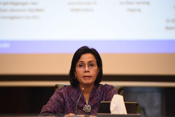 Menteri Keuangan Sri Mulyani Indrawati saat memaparkan kinerja APBN KITA Edisi November 2019 di Jakarta, Kamis (19/12 - 2019). Istimewa