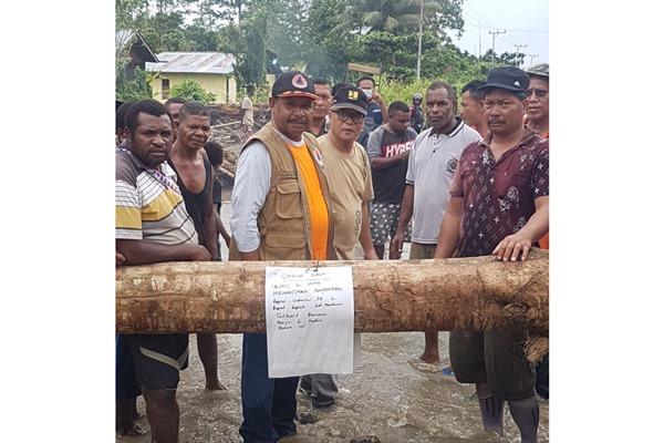 Banjir di Manokwari, Papua - istimewa
