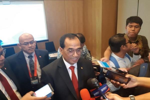 Menteri Perhubungan Budi Karya Sumadi. JIBI/Bisnis - Rinaldi Mohammad Azka