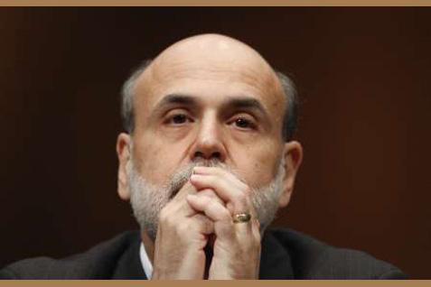 Mantan Gubernur The Fed Ben Bernanke menyampaikan penilaian yang cukup optimistis terhadap kemampuan bank sentral AS untuk melawan resesi berikutnya. - Reuters