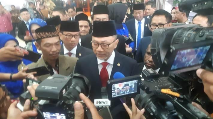 Zulkifli Hasan, bersama Amien Rais tentukan arah PAN - Bisnis/Jaffry Prabu Prakoso