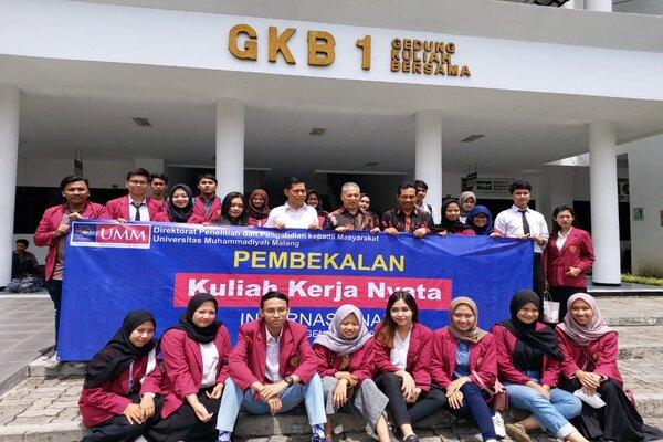 Mahasiswa UMM yang akan mengikuti KKN Internasional ke Kinabalu Malaysia. - Istimewa