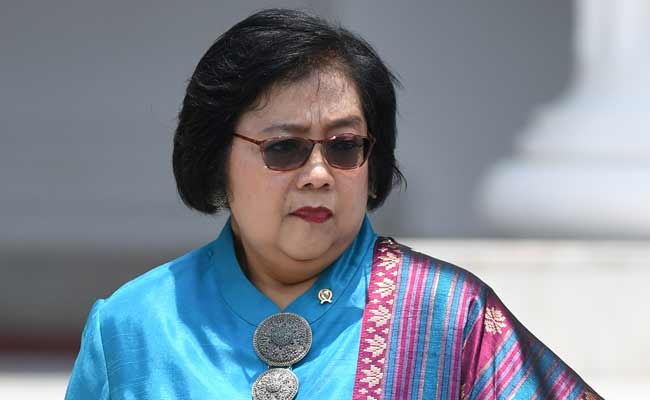 Menteri Lingkungan Hidup dan Kehutanan Siti Nurbaya ANTARA FOTO - Wahyu Putro A