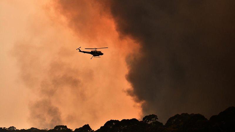 Kebakaran di Australia. - Reuters