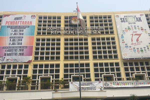 Gedung KPU - Bisnis/Jaffry Prabu Prakoso