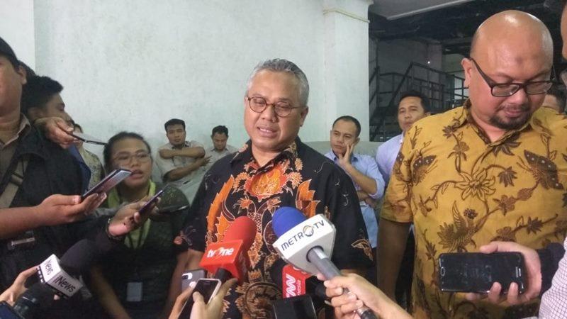 Ketua KPU Arief Budiman. - Jaffry Prabu