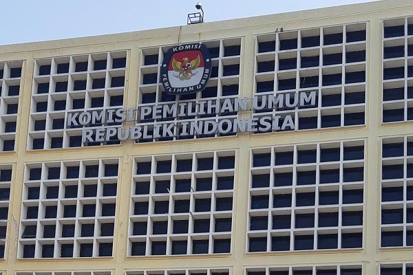 Gedung Komisi Pemilihan Umum RI di Jakarta. -Bisnis.com - Samdysara Saragih