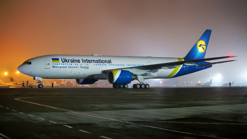 Boeing 777 Ukraine International Airlines - Wikipedia