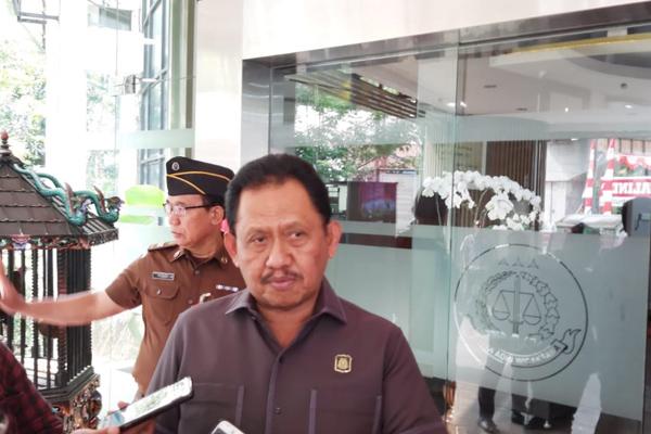 Adi Toegarisman, Jaksa Agung Muda bidang Pidana Khusus. - Bisnis/Sholahuddin Al Ayyubi