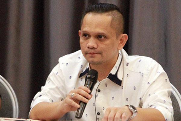Presiden klub Persiraja Banda Aceh Nazaruddin Dek Gam. - Liga-Indonesia.id