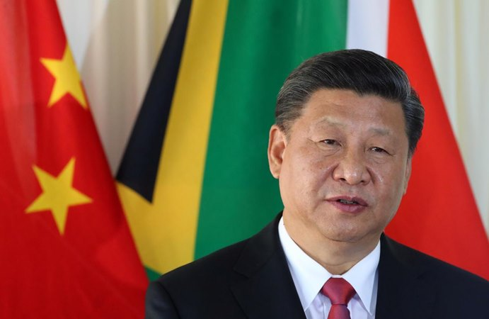 Presiden China Xi Jinping - REUTERS/Mike Hutchings