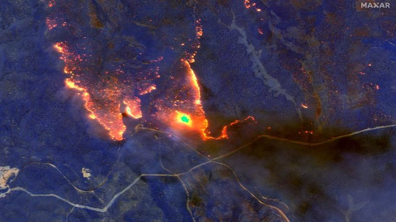 Kebakaran di Australia. - Reuters.com