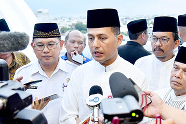 Wakil Gubernur Sumatra Utara Musa Rajekshah (tengah). - Humas.sumutprov.go.id