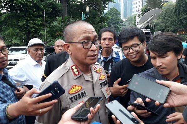 Kepala Bidang Humas Polda Metro Jaya, Kombes Yusri Yunus. - ANTARA/Fianda Rassat