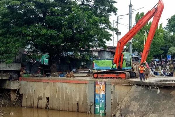 Pintu air Manggarai, Jakarta, Antara/Livia Kristianti