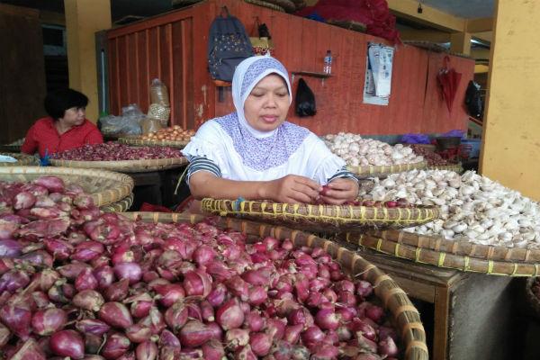 Ilustrasi pedagang bawang merah - JIBI/Harian Jogja/Holy Kartika N.S