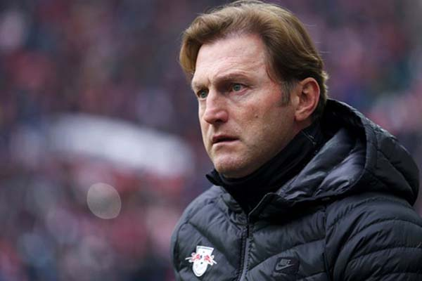 Pelatih Southampton Ralph Hasenhuettl - Reuters/Hannibal Hanschke