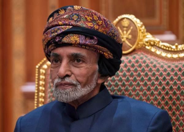 Sultan Oman Qaboos bin Said al-Said saat berada di Istana Beit Al Baraka di Muscat, Oman, 14 Januari 2019. - Andrew Caballero/Reynolds/Pool via REUTERS
