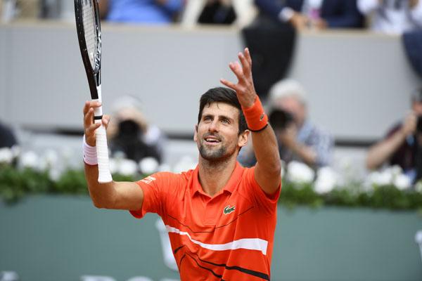 Petenis Serbia Novak Djokovic - RolandGarros.com