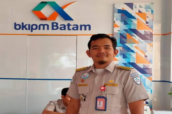 Kasubsi Wasdalin Stasiun Karantina Ikan Pengendalian Mutu (SKIPM) Batam Dwi Sulistiyono. JIBI - Bisnis/Bobi Bani.