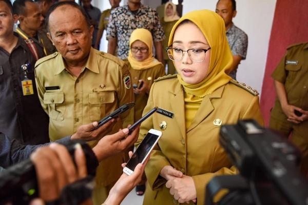 Bupati Purwakarta Anne Ratna Mustika - Istimewa