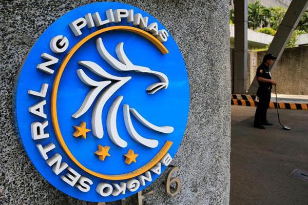 Bank sentral Filipina (Bangko Sentral Pilipinas). - Reuters/Romeo Ranoco