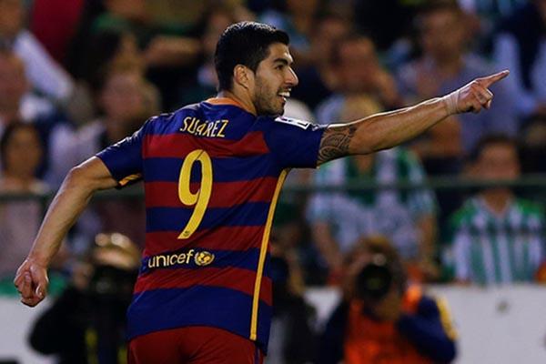 Luis Suarez - Reuters/Marcelo del Pozo