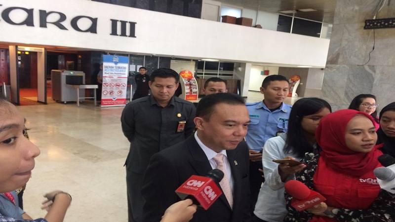 Wakil Ketua DPR Sufmi Dasco Ahmad . JIBI/Bisnis - Jaffry Prabu Prakoso