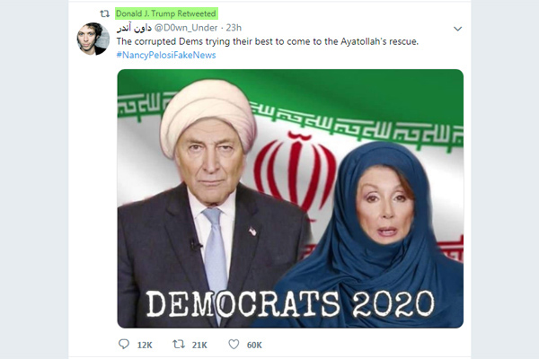 retweet Donald Trump