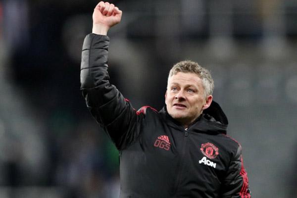 Pelatih Manchester United Ole Gunnar Solskjaer - Reuters/Scott Heppell