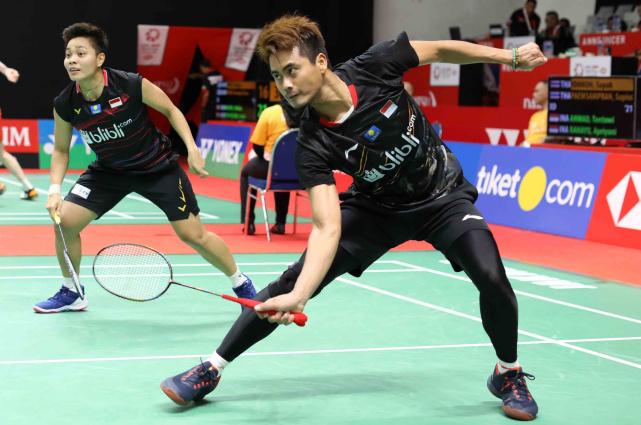 Ganda campuran Tontowi Ahmad-Apriyani Rahayu - Badminton Indonesia