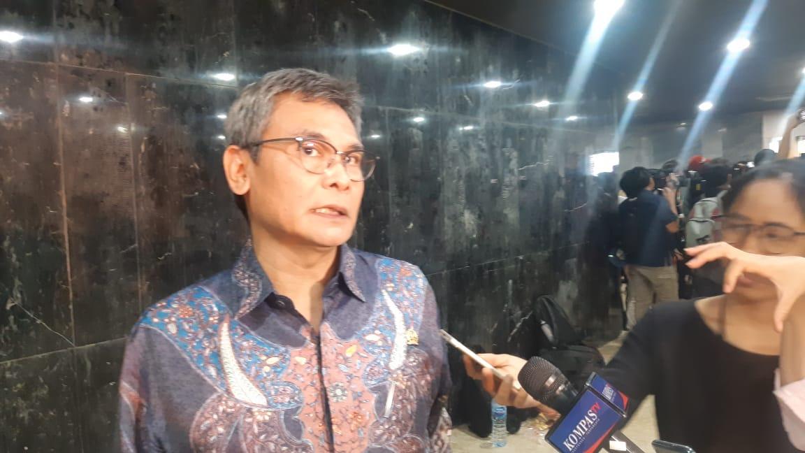Anggota Komisi II DPR RI, Johan Budi. - Bisnis.com/Rayful Mudassir