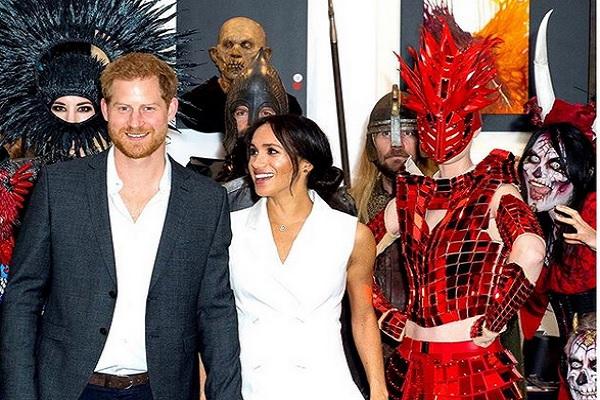Pangeran Harry dan Meghan Markle - Instagram @sussexroyal