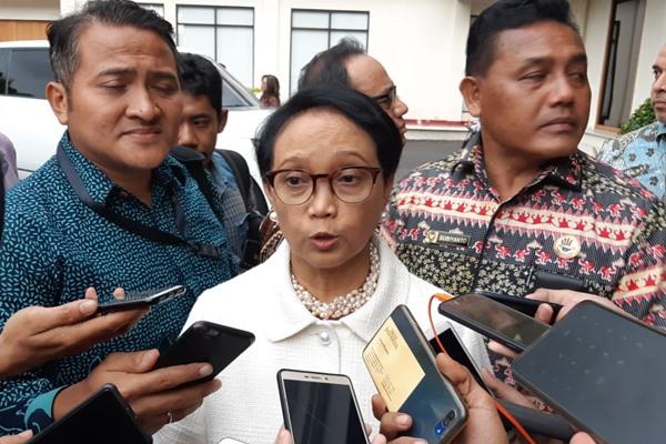 Menteri Luar Negeri Retno LP Marsudi - Bisnis/Jaffry Prabu Prakoso