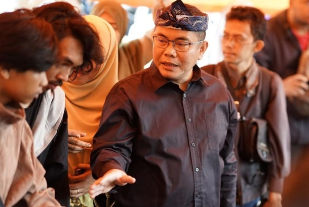 Kadinsos Kota Bandung Tono Rusdiantono - Bisnis/Dea Andriyawan