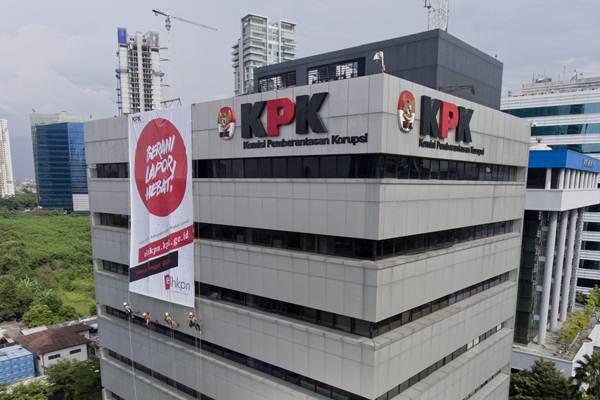 KPK menyebut tingkat kepatuhan penyelenggara negara melaporkan harta kekayaan masih rendah. - ANTARA/Hafidz Mubarak A