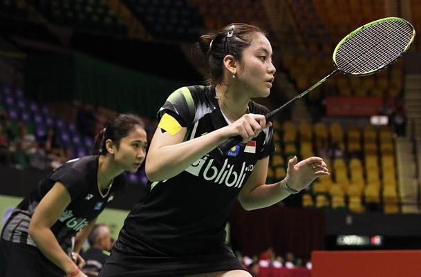 Ganda putri Ni Ketut Mahadewi Istarani-Tania Oktaviani Kusumah - Badminton Indonesia