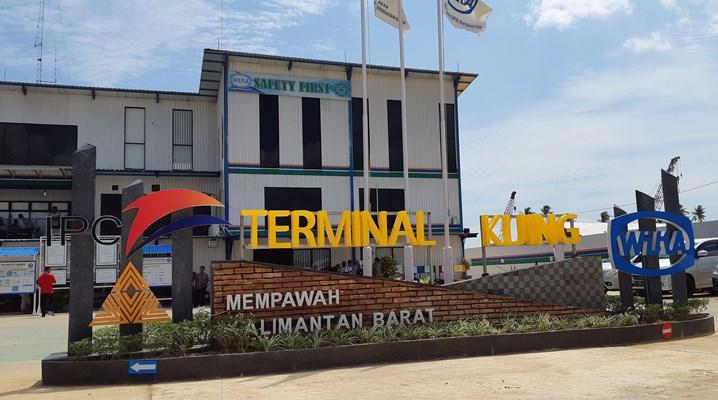Terminal Kijing Kalimantan Barat. BISNIS - Puput Ady Sukarno