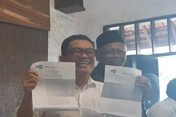Helmi Yahya saat memberi keterangan di Pulau Dua Restoran, Jakarta Pusat pada Jumat (17/1/2020) - Bisnis.com - Ria Theresia Situmorang