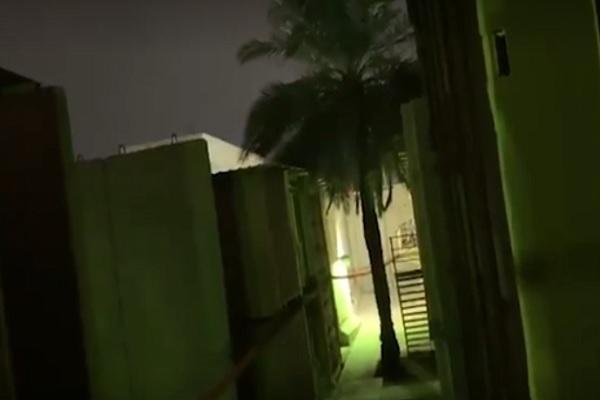 Tiga roket Katyusha hari ini, Selasa (21/1/2020), jatuh di Zona Hijau Baghdad Irak, dua di antaranya mendarat dekat Kedutaan Besar AS. - Reuters