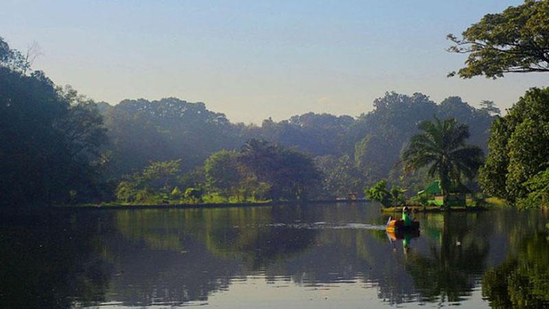 Keindahan Situ Gede di Kelurahan Situgede, Bogor Barat, Kota Bogor, Jawa Barat. - Antara/Humas Pemkot Bogor