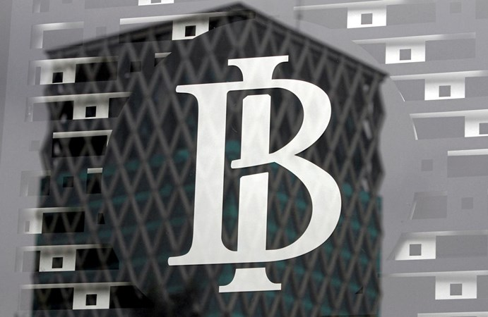 Logo Bank Indonesia. - Reuters