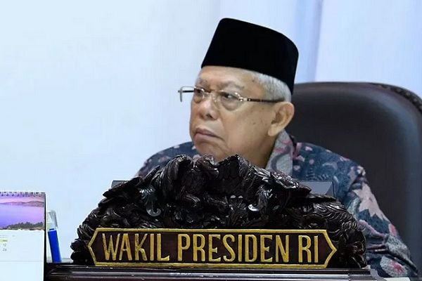 Wakil Presiden Maruf Amin. - Antara
