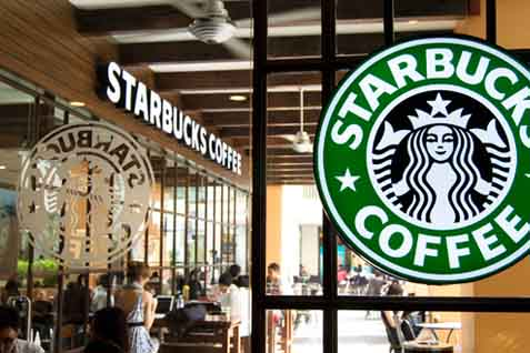 Gerai Starbucks - Istimewa