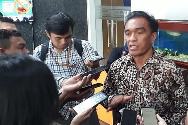 Anggota Ombudsman RI, Laode Ida, di Gedung Ombudsman, Jakarta, Jumat (15/11/2019). - Antara