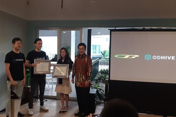Peresmian Cabang ke-37 CoHive dibuka di Sahid Sudirman Residence, Jakarta, Selasa (28/1/2020). - Bisnis/Mutiara Nabila