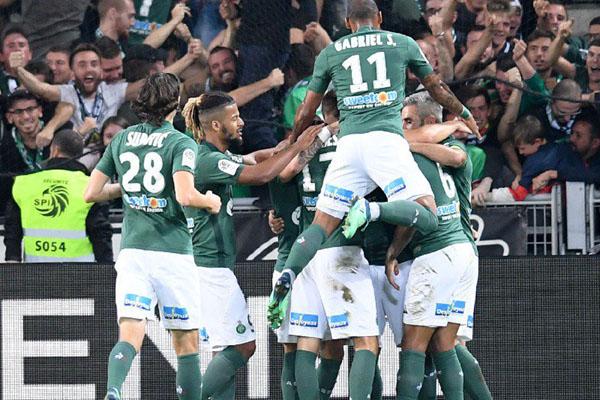 Saint-Etienne - Twitter@ASSEofficiel