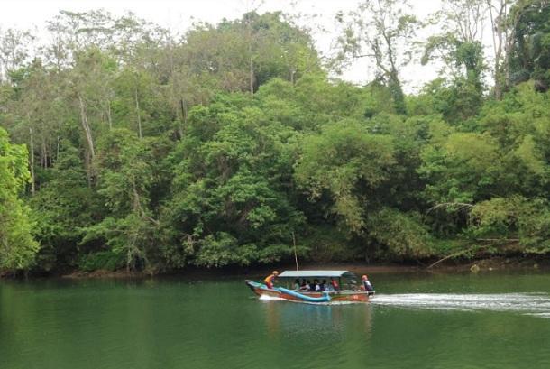 Potensi wisata yang dikembangkan warga desa Cijulang di Kabupaten Pangandaran - Bisnis/Wisnu Wage
