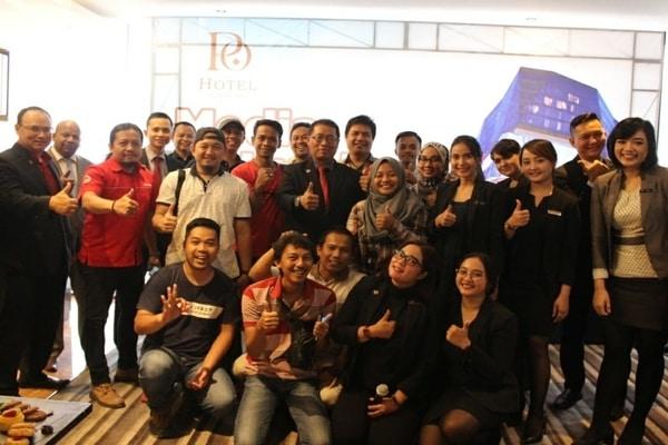Suasana acara Ngopi Bareng Rekan Media Semarang di PO Hotel Semarang.