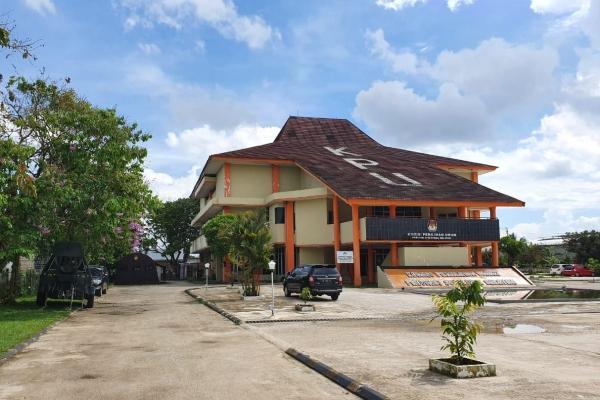 Gedung KPUD Sumatra Selatan - Istimewa
